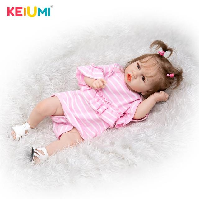 Кукла-младенец KEIUMI 23D162-c486-H107-S31 3