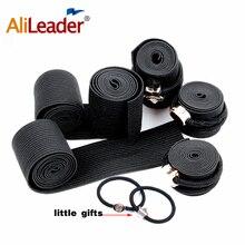 Alileader парик резинка резинка полиэстер регулируемая высокоэластичная шитье резинка лента толстая широкая эластичность резинка для изготовления парик шапочка