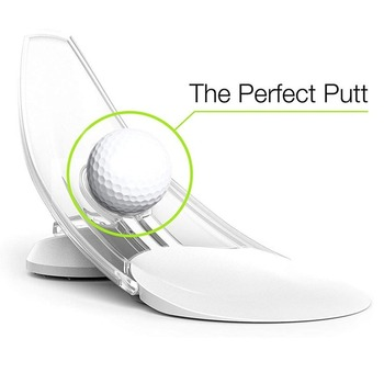 Pressure Putting Golf Trainer Aid Office Home Carpet Practice Putt Aim  For Golf Pressure Putt Trainer Home Office ABS