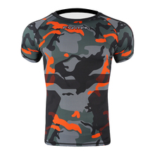 Boxing-Jerseys MMA Tiger T-Shirt Tight Muay-Thai-Clothing Kick-Boxing Training Fitness