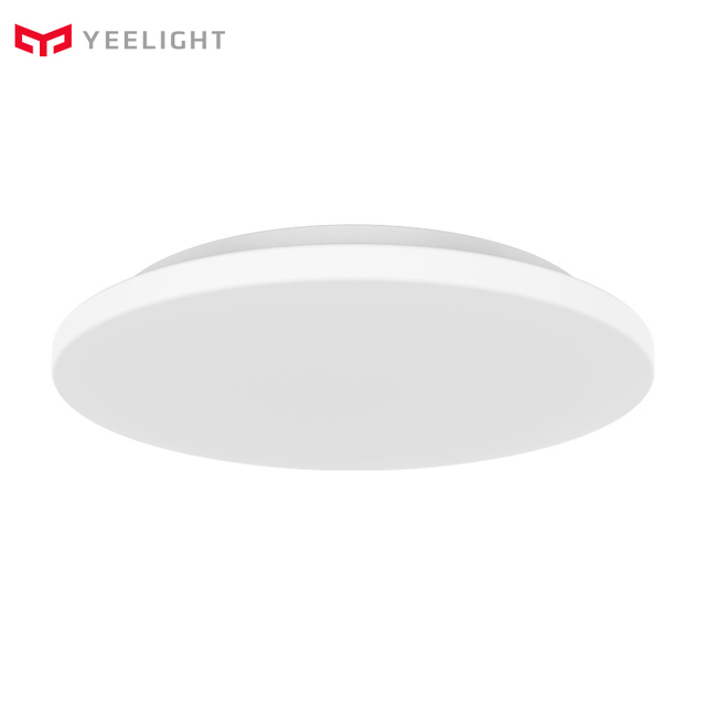 Originele Yeelight Led Plafondlamp Afstandsbediening 24W 3 Gear Verstelbare Stofdicht Plafondlamp Voor Woonkamer Slaapkamer