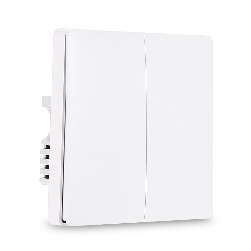 Aqara ZiGBee wifi Wireless Smart Switch Light Remote Control Key Wall Live Neutral Wire Switch for Mi Home APP in Switches from Lights Lighting