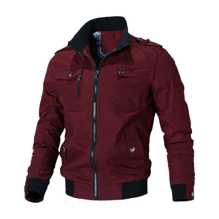 H0e36ede6c8fd40a887395e6fe462fa0bQ Mountainskin Casual Jacket Men Spring Autumn Army Military Jackets Mens Coats Male Outerwear Windbreaker Brand Clothing SA779
