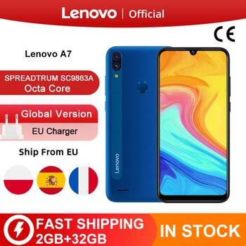 Перейти на Алиэкспресс и купить Новый смартфон Lenovo A7, Восьмиядерный, 2 Гб, 32 ГБ, 6 дюймов, HD дисплей, 4000 мАч, задняя камера 13 МП, 5 Мп