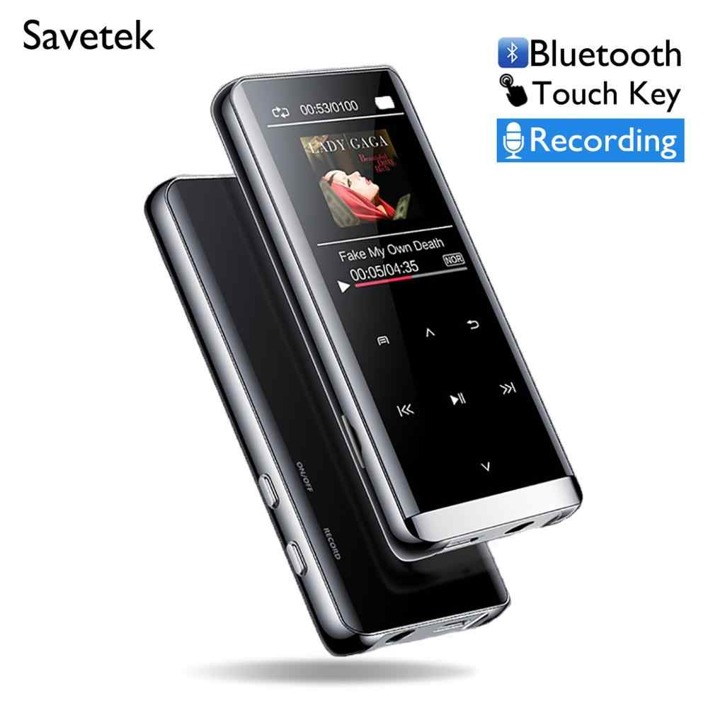Lossless HiFi MP3 Player 8GB 16GB Mp3 Sports Walkman Music Player Flac Audio Player Touch Key with FM Radio Voice Recorder