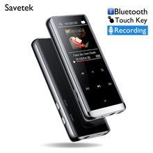 Bezstratny odtwarzacz MP3 HiFi 8GB 16GB odtwarzacz Mp3 Walkman odtwarzacz muzyczny Flac odtwarzacz Audio klawisz dotykowy z radiem FM dyktafon