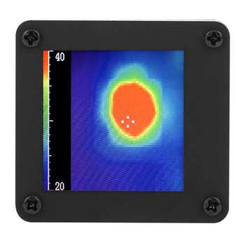 Sensor de temperatura de cámara térmica infrarroja, dispositivo de detección de distancia más larga de 7m/23 pies, tamaño compacto, fácil de llevar, 8x8, AMG8833 1