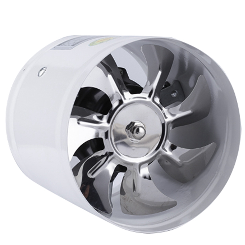 4 Inch Inline-rohrventilator Luft Ventilator Metall Rohr Ventilation Exhaust Fan Mini Dunst Bad Wc Wand Fan Kanal Fan zugang