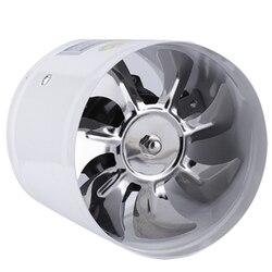 4 Polegada inline ventilador do duto ventilador de ar tubo de metal ventilação exaustor mini banheiro banheiro banheiro banheiro ventilador de parede duto acesso ventilador