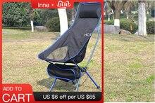 Portátil dobrável lua cadeira de pesca acampamento churrasco fezes dobrável estendido caminhadas assento jardim ultraleve escritório móveis para casa