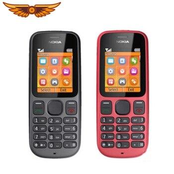 Teléfono móvil Nokia 100, Original, desbloqueado, 101g/m², pantalla de 1,8 pulgadas, radio FM, batería de 850mAh, reacondicionado