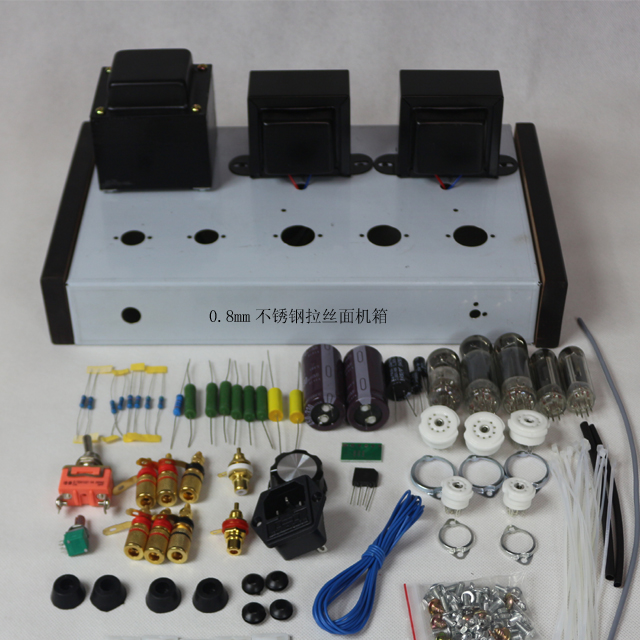 2019 ICAIRN AUDIO Special Offer Home Audio Tube Amplifier DIY Kits 6Z4+6N1+6P1 Power Amplifier 4W+4W AC110V/220V Option