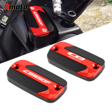 For Honda CB650F CB650R CB 650 R F High Quality New Motorcycle CNC Accessories Front Brake Reservoir Fluid Tank Oil Cup Cover