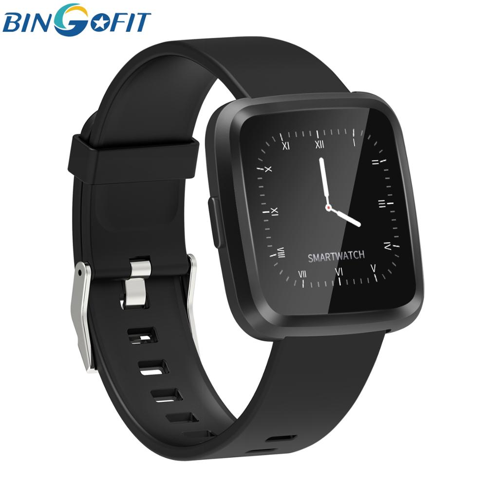 Fitness Tracker Smart Bracelet Watch Sleep Tracker Blood Pressure Control Waterproof IP67 Activity Tracker for Android IOS in Smart Wristbands from Consumer Electronics