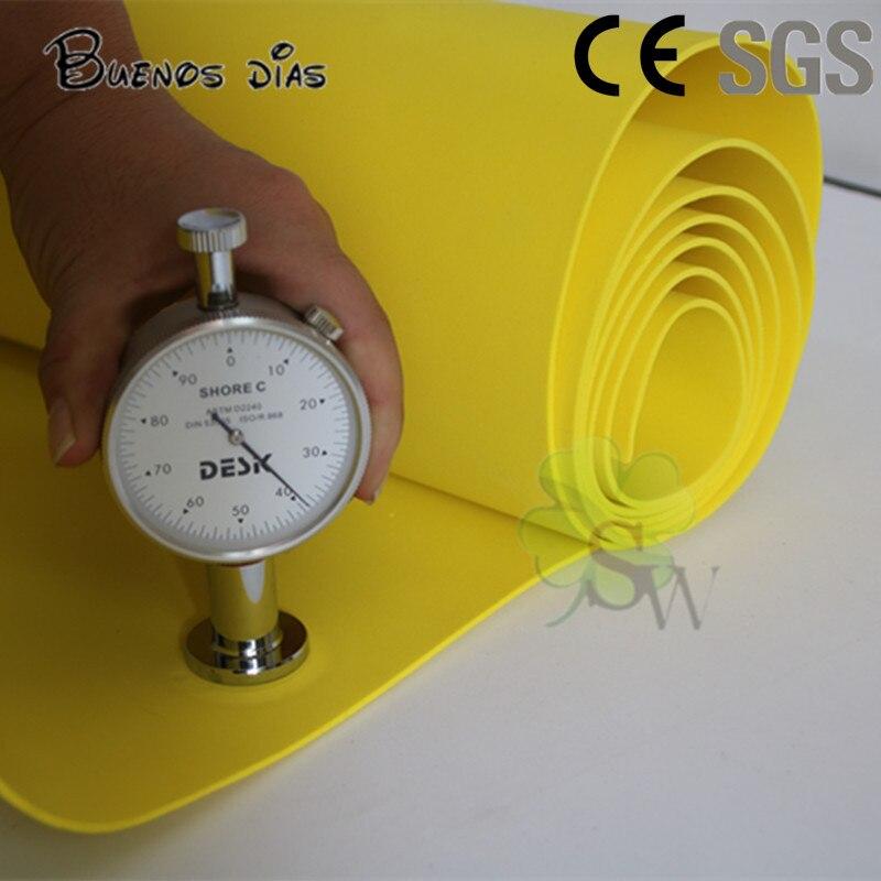 Buones Dias 50cm*2m /lot Yellow Color 1.5mm / 4mm Eva Foam Sheets,Craft Easy To Cut,Handmade Cosplay Material