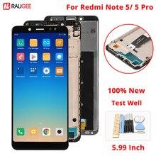 Dla Xiaomi Redmi Note 5 wyświetlacz LCD + ekran dotykowy nowy ekran wymiana zespołu Digitizer dla Xiaomi Redmi Note5 Pro/Note5
