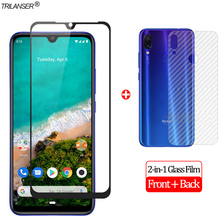 2-in-1 Front + Back Full Cover Glass Film MiA3 Xiaomi Mi A2 Lite Screen Protector Xiaomi Mi A2 MiA 3 Tempered Glass Xiaomi Mi A3 все цены