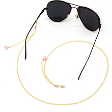New Small Ball Link Chain Eyeglasses Chains Glasses Rope Holder Sunglasses Eyewears