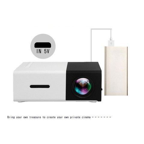 yg300 led mini projetor 320x240 pixels suporta 1080 p yg 300 hdmi usb de audio