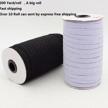 1 rolka elastyczne elastyczne paski płaski przewód do talii szycie odzieży spodnie bielizna