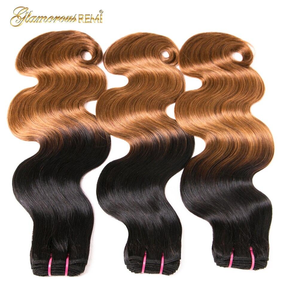 100% human hair bundles bouncy curl 09