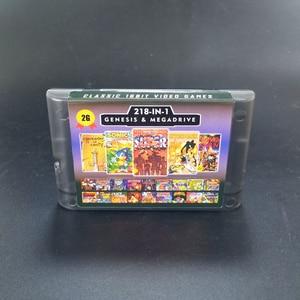Image 5 - 2G Capaciteit Batterij Bespaar 218 In 1 Game Card Voor Sega Megadrive Genesis Met Shining Force Ii Langrisser Ii sonic The Hedgehog 3