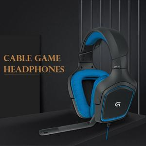 Image 2 - Logitech G430 7.1 Surround Game Stereo USB Cable Headset Adjustable Noise Reduction Rotary Headset w/Mic for PC/ PUBG Headphone