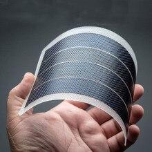Esnek ince Film güneş paneli modülü DIY 1W 6V Placa Energia Solar Fotovoltaica şarj edilebilir pil kiti komple güneş enerjisi sistemi