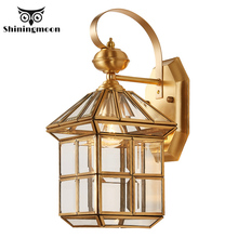American Loft Wall Lamps Modern Luxury Glass Led Art Lamp Stairs Corridor Sconce House Decoration Light Fixtures
