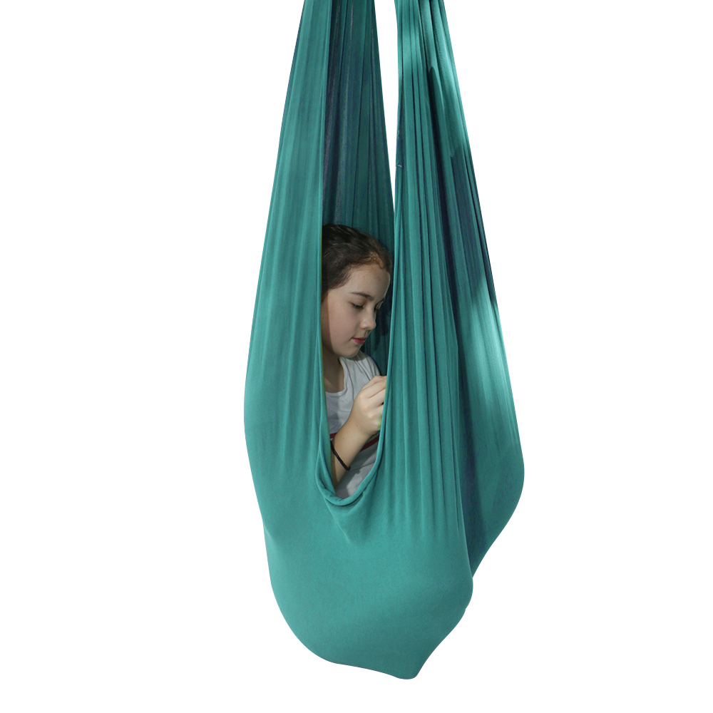 Indoor Therapy Sensory  Swing For Kids Snuggle Cuddle Hammock Special Needs Lycra Snuggle Swing | Cuddle Hammock For Children