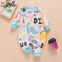 ZAFILLE Cotton Baby Jumpsuit Animal Printed Kids Clothes Long Sleeve Baby Romper Newborn Infant Boys Clothing Baby Boy Clothes baby short sleeve one piece dress baby romper newborn infant cotton romper boy girl animal printed jumpsuit kids clothes outfit