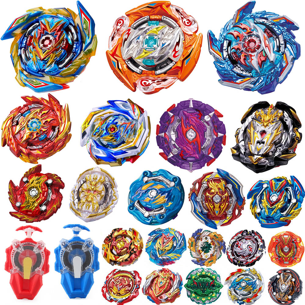 Tops Burst Launchers Beyblade GT Toys B-163 Burst Bables Toupie Bayblade Metal Fusion God Tops Bey Blade Blades Toy