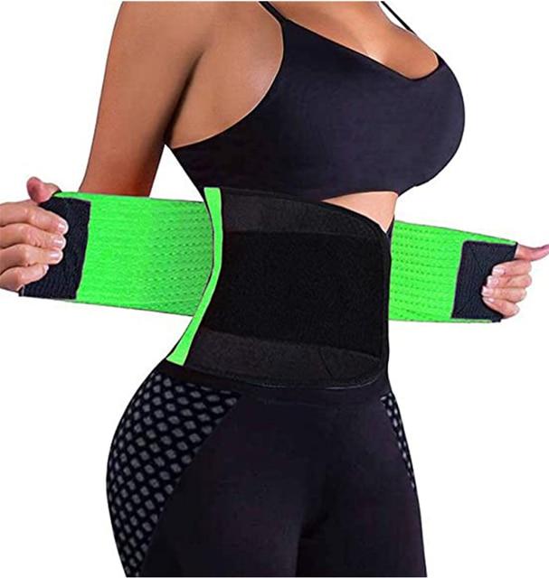 In Stock ! Adjustable Waist Back Support Waist Trainer Trimmer Belt Sweat Utility Belt for Sport Gym Fitness Weightlifting LWT 4
