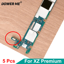 5Pcs/Lot On Motherboard Charger Port Charging Dock Flex Cable FPC Connector Plug For Sony Xperia XZ Premium G8142 G8141 XZP