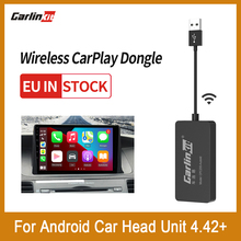 Carlinkit-llave electrónica inalámbrica para Android, llave electrónica automática con conexión USB, enlace inteligente CarPlay para reproductor de navegador Android, Mirrorlink