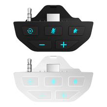 Black Stereo Headset Adapter Headset Audio Adapter Headphone Converter For Microsoft Xbox One Wireless Game Controller