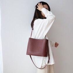 VENOF سعة كبيرة النساء جلد طبيعي حقيبة كتف أزياء أنيقة حمل حقيبة الإناث حقيبة ساعي حقيبة يد فاخرة للنساء