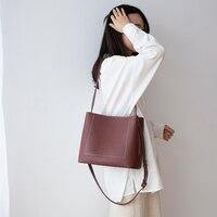 VENOF large capacity women genuine leather Shoulder Bag fashion elegant tote bag female Messenger Bag luxury handbags for women