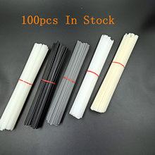 As varas plásticas da soldadura de 100 pces soldam o reparo abundante abs/pp/pvc/pe que soldam a solda fornecem 20cm