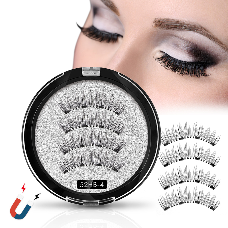 <font><b>Magnetic</b></font> <font><b>eyelashes</b></font> <font><b>with</b></font> <font><b>4</b></font> <font><b>magnets</b></font> <font><b>magnetic</b></font> lashes natural false <font><b>eyelashes</b></font> <font><b>magnet</b></font> lashes <font><b>with</b></font> <font><b>eyelashes</b></font> applicator KS02-<font><b>4</b></font> image