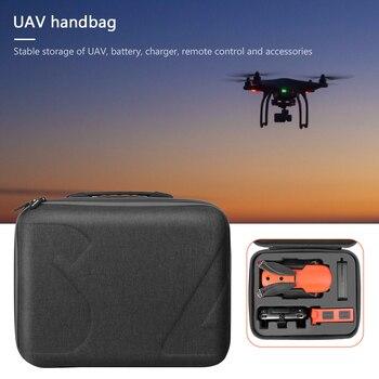 Bolsa portátil de almacenamiento de repuestos de Drones RC para Autel EVO II Pro II Dual Drone bolso de almacenamiento con capa de red