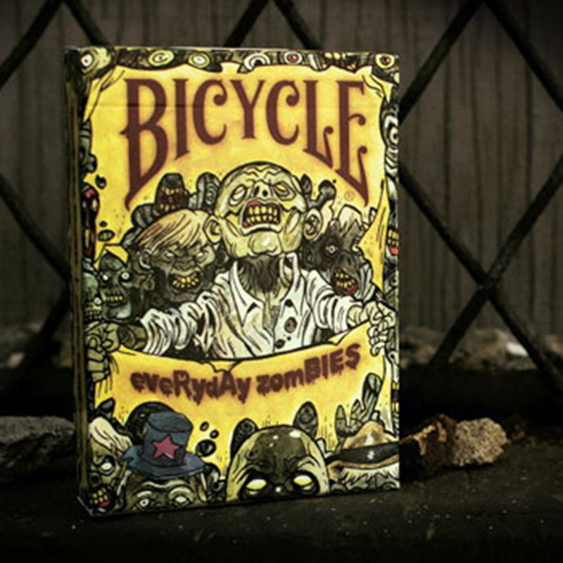 bicycle-everyday-zombie-playing-cards-88-63mm-paper-cards-magic-font-b-poker-b-font-card-magic-trick-collection-card