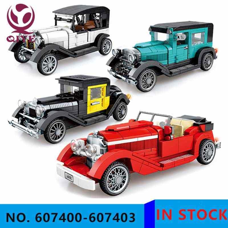 QIYE Roadster RC Mobil Sembo 701650 Creator Ide Teknik MOC Mainan 42083 Lepining Blok
