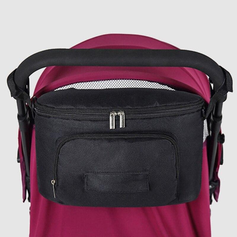 Baby Stroller Bag Organizer Bag Nappy Diaper Mummy Bag Mama Carriage Buggy Pram Cart Basket Hook Stroller Accessories