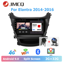 JMCQ 9 Car Radio 2 Din Android 9.0 For Hyundai Elantra 2014-2016 players Multimedia Video Players Stereo 4G + 64G din android