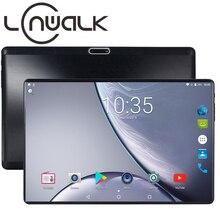 Новинка, 10 дюймов, 4G LTE, планшетный ПК, четыре ядра, 4 Гб ОЗУ, 64 Гб ПЗУ, 1280x800, ips, 2.5D, закаленное стекло, 10,1, планшеты, Android 9,0+, подарки