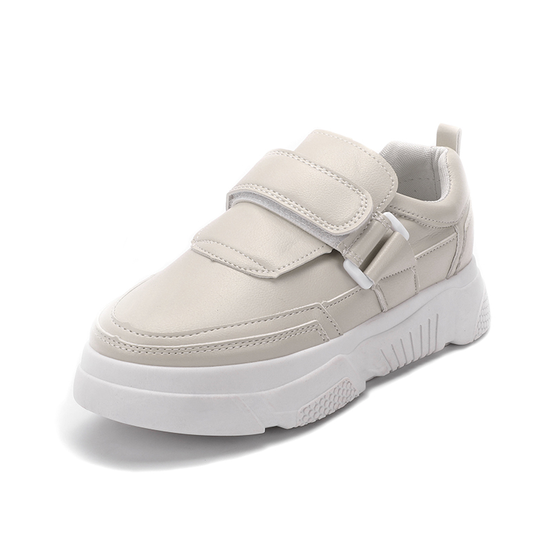High Platform Sneakers For Girls Chunky Sneakers Women 2019 Fashion White Sneakers dames Soft Autumn Baskets femme Sneakers New in Women 39 s Vulcanize Shoes from Shoes