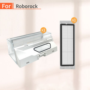 Image 1 - Robot Vacuum Cleaner Dust Box for Xiaomi Mijia Mi 1 Generation 2 Generations or Roborock S55 S51 S50 Side Brush Filter Parts