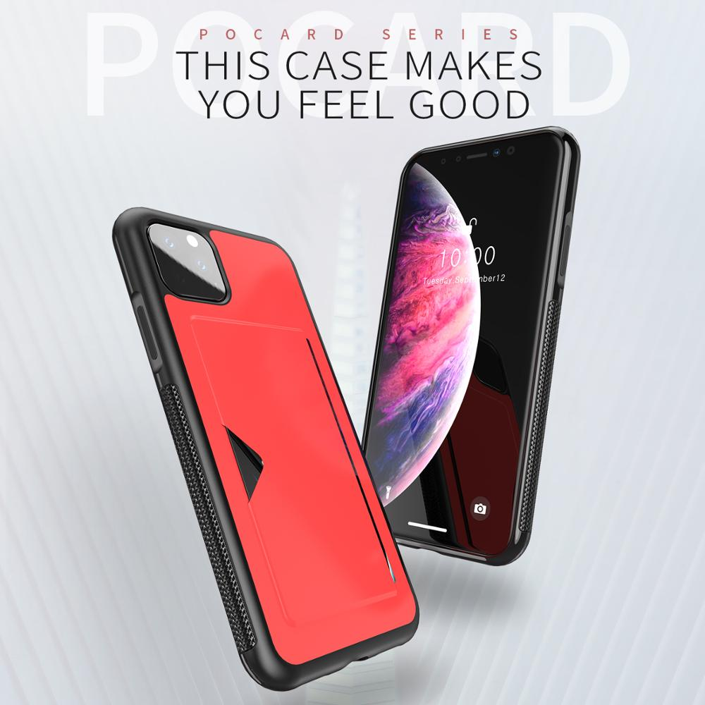 Chirm Card Pocket Case for iPhone 11/11 Pro/11 Pro Max 3