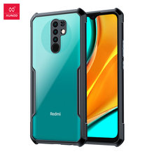 For Xiaomi Redmi 9 XUNDD Shockproof Phone Case With Airbag Bumper Soft Back Shell,Camera & Screen Protector For Redmi 9 Mat Case